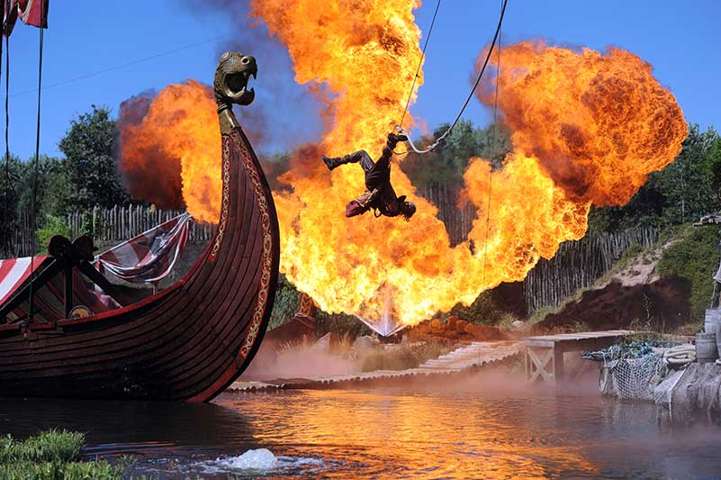Photo Puy du Fou les Vikings Parc en Vendée