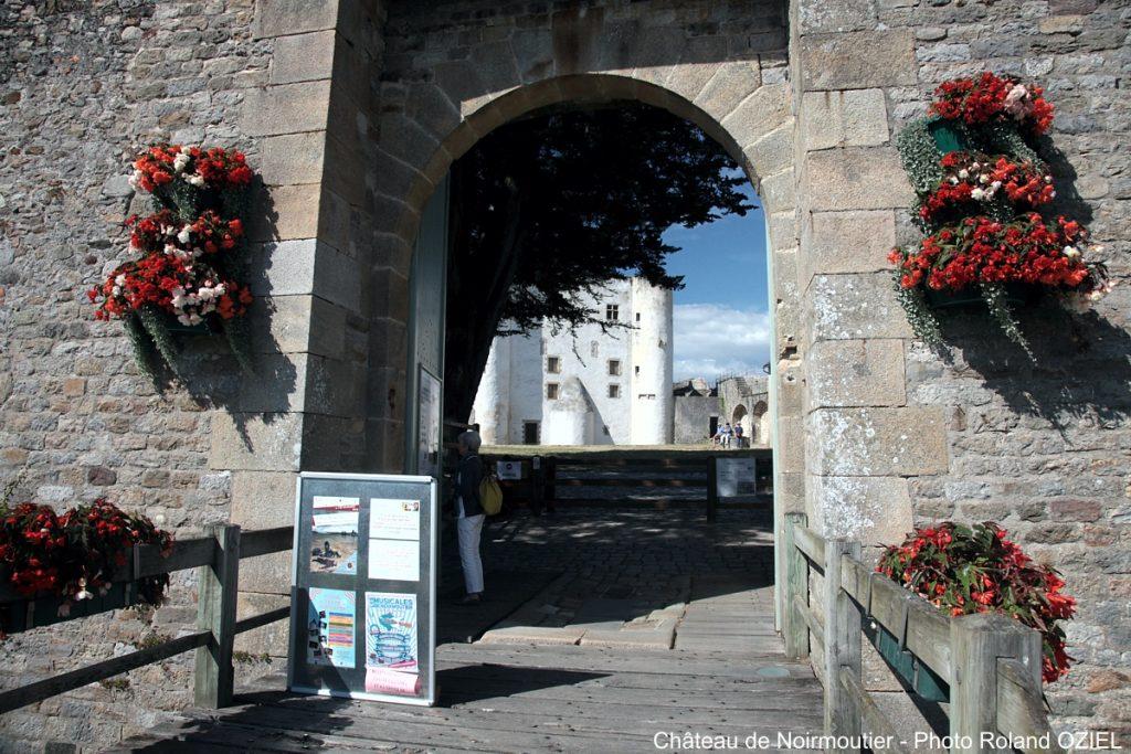 Photo du Château de Noirmoutier à proximité de Saint Jean de Monts camping Côté Plage
