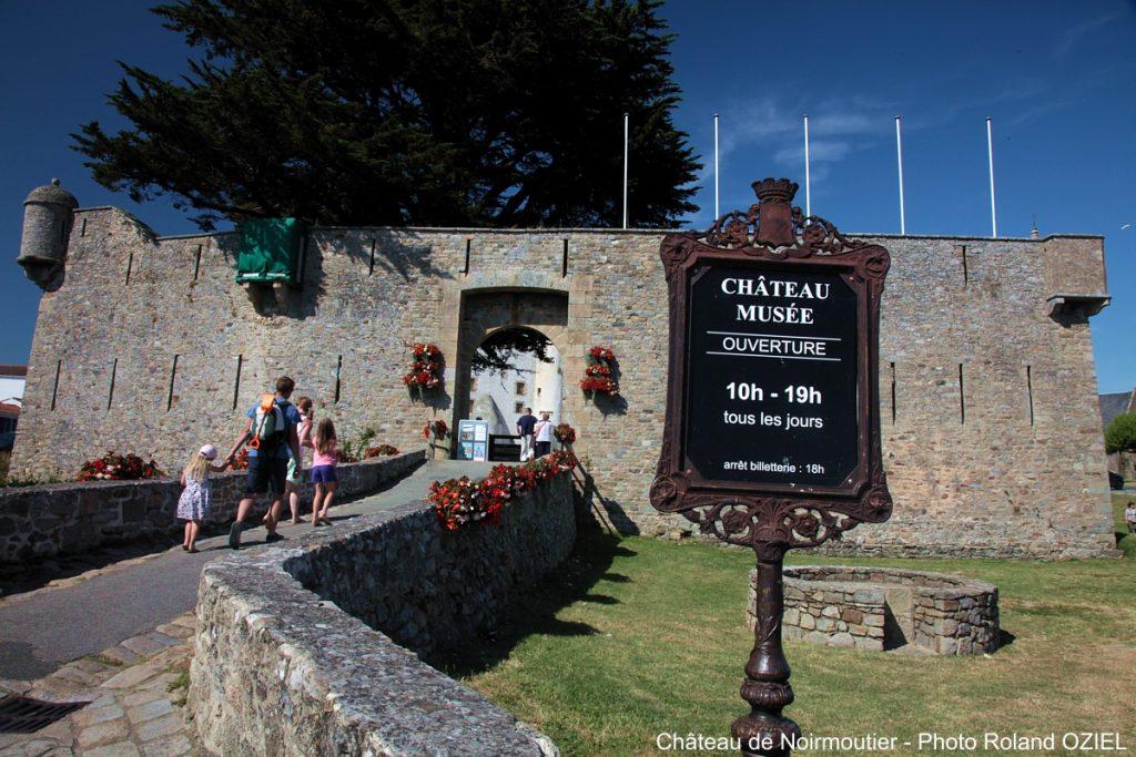 entree chateau Noirmoutier
