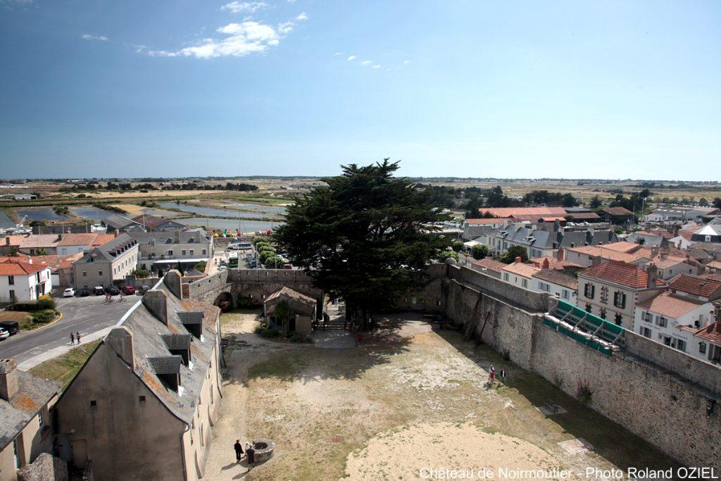 vue Noirmoutier chateau