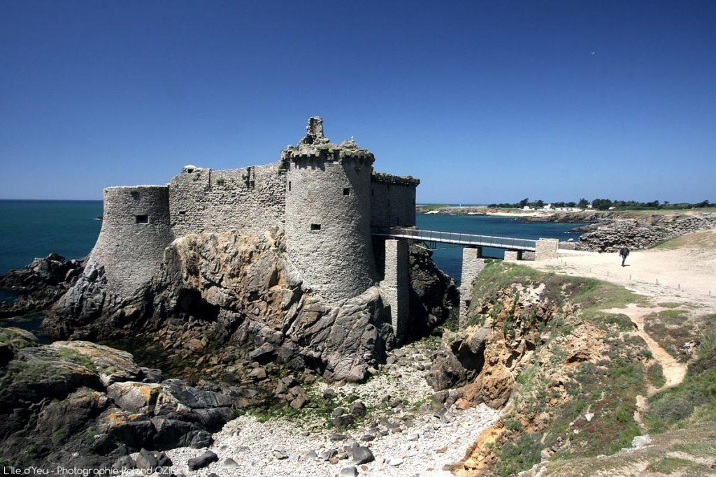 Photo Ile d'Yeu Vieux Chateau côte sauvage