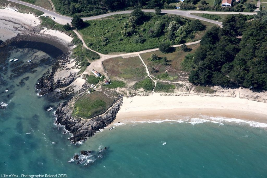 Photo plage île d'Yeu excursion depuis camping Côté Plage