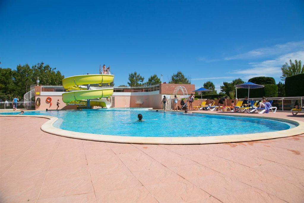 vue piscine du camping à st jean de monts