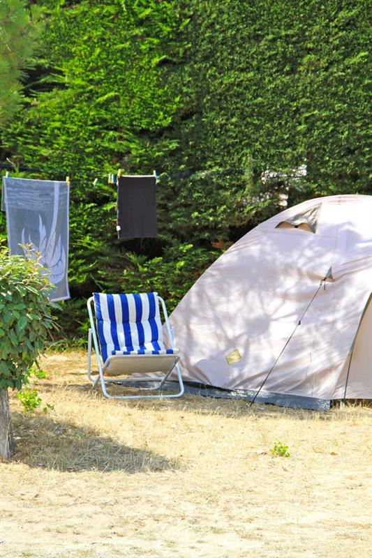 emplacement tente camping
