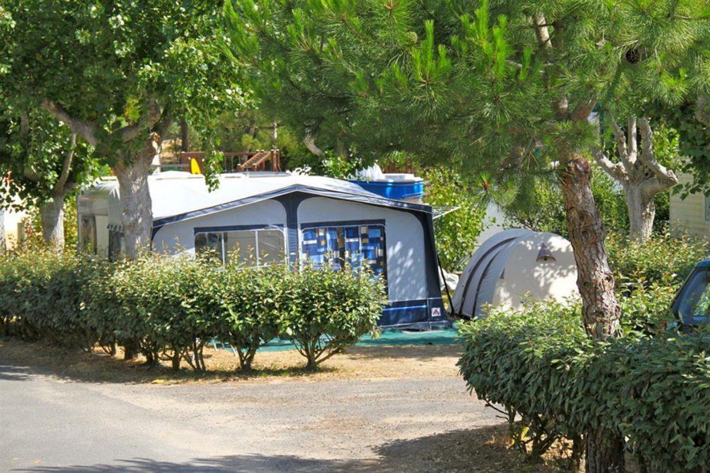 caravane camping cote plage