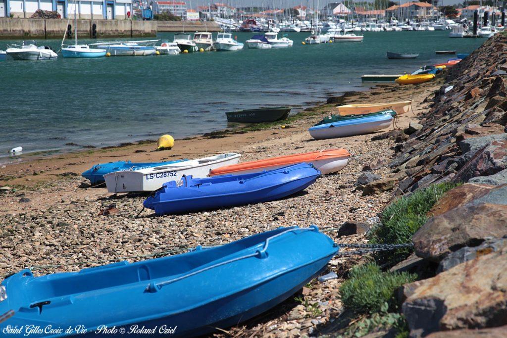 Photo bateaux et port Saint gilles Croix de Vie camping Côté Plage