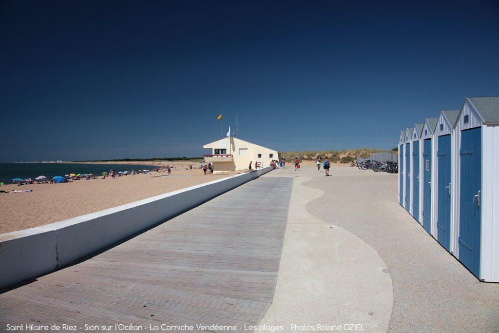 Photo cabane de plage à proximité camping Côté Plage St Jean de Monts