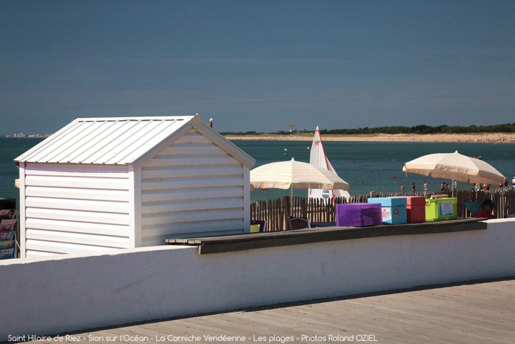 Photo plage vacances détente à proximité du camping Côté Plage Vendée
