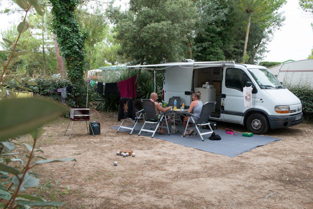 photo camping saint jean de monts vendee emplacements