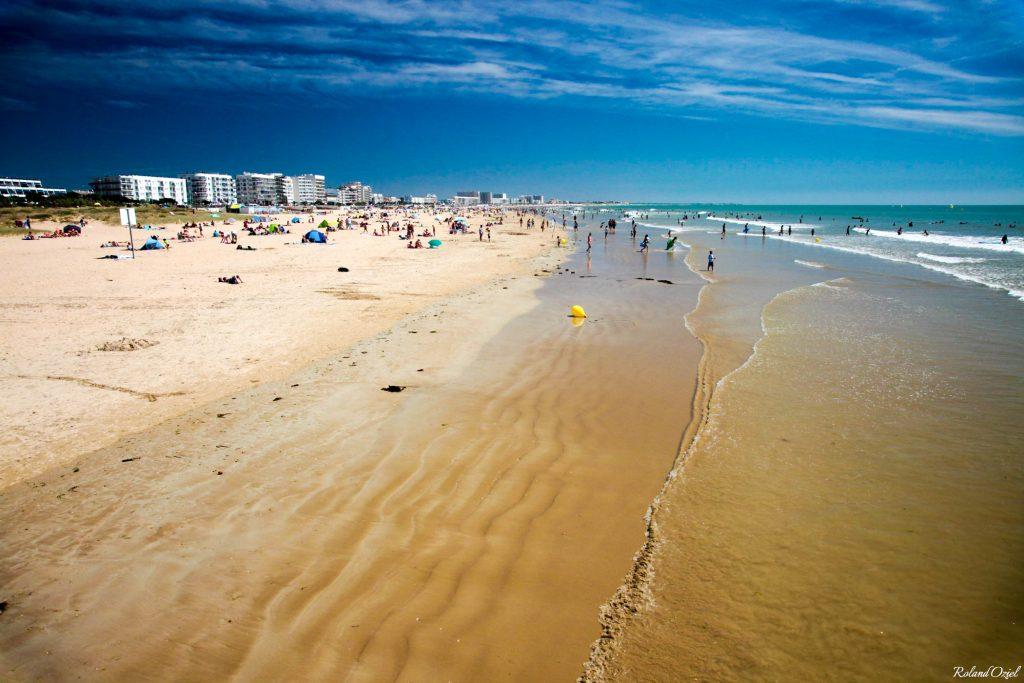 accès direct à la plage