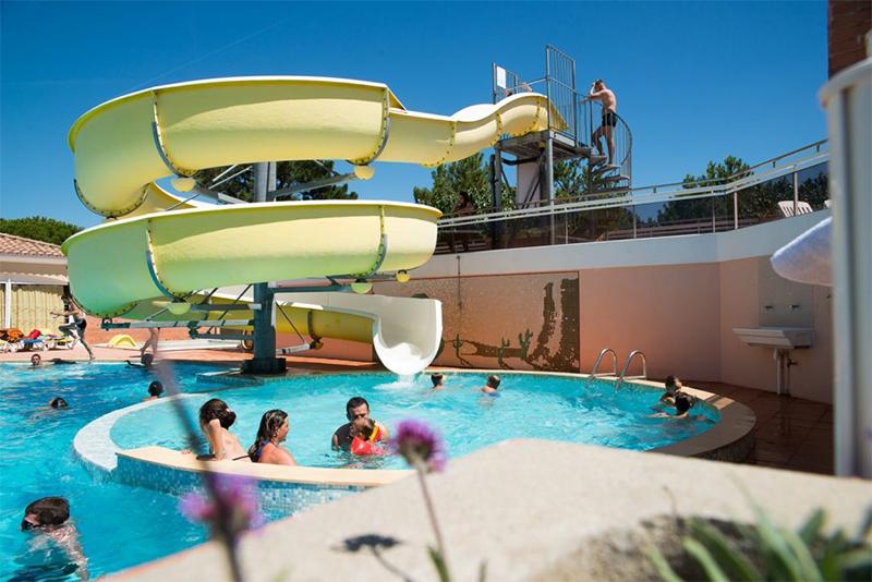 la piscine du camping à St Jean de Monts