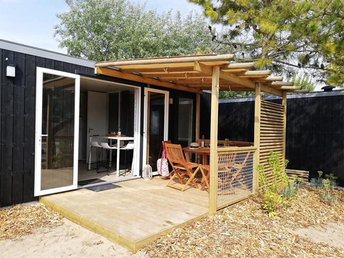 camping 3 étoiles haut de gamme en Vendée : exemple de locatif