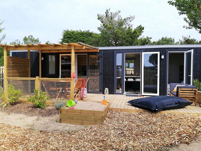 location camping 3 étoiles avec accès direct à la plage en Vendée