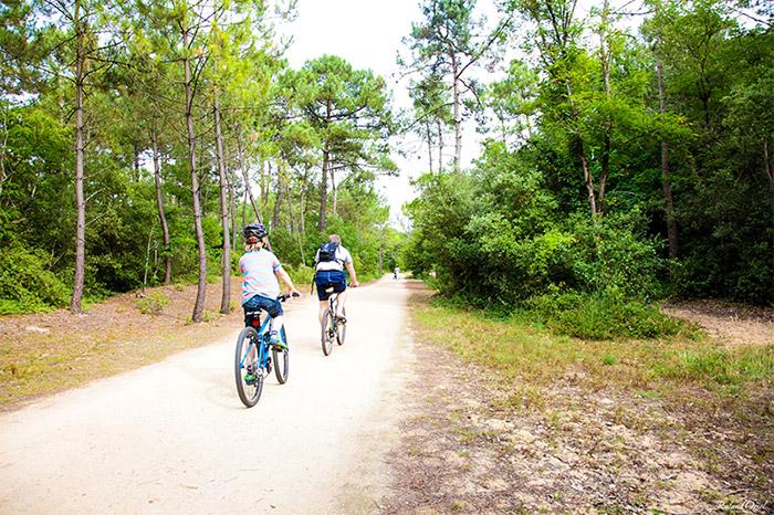 Pistes cyclables Saint Jean de Monts proches du camping 3 étoiles