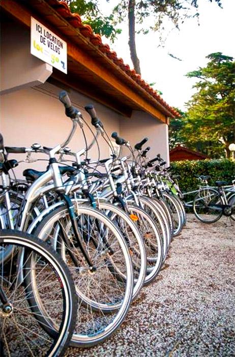 Location de vélo au camping Saint Jean de Monts