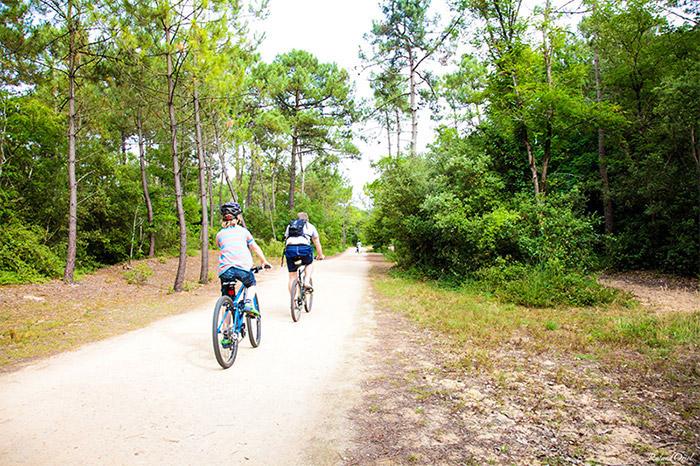 tout faire à vélo camping côte Atlantique
